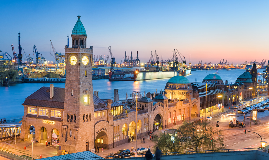auf zum 831. Hafengeburtstag in Hamburg
