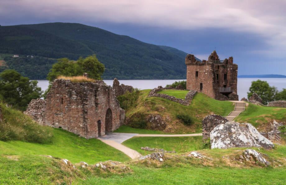 SCHOTTLAND  -  von Edinburgh und Glasgow in die wildromantischen Highlands