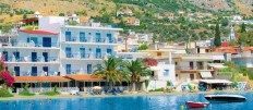 ...KURIER CLUB - 3 * HOTEL  ARIS, Tolo, Griechenland
