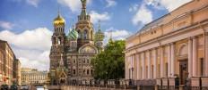 ...KURIER CLUB - MS Strawinski II - Moskau bis St.Petersburg