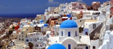 ...KURIER CLUB - Ostern auf Santorin, Griechenland