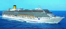 COSTA LUMINOSA -  Weltreise ab Singapur bis Venedig